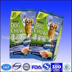 pet food side gusseted package bag