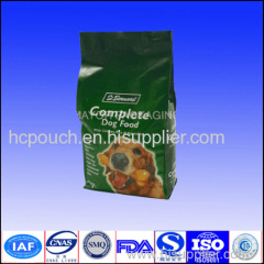 dog food side gusseted pouch