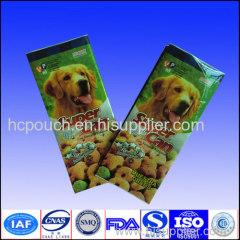 dog food side gusseted bag