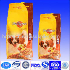dog food side gusseted package
