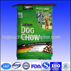dog food side gusseted packaging