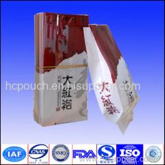 tea side gusseted bag