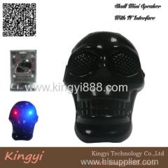Skull mini speaker with TF interface