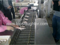 Poultry Processing Equipment Feet to Paw Cutter