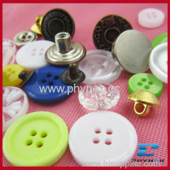 different types of buttons,jean button,polyesterbutton,plastic