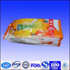 aluminum foil side gusseted bag