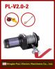 1000kg/2000lb/1ton UTV/ATV 12 volt DC electric winch supplier