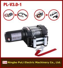 1500kg/3000lb/1.5ton ATV/UTV DC 12 volt electric winch manufacturer