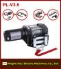 12 volt DC 1600kg/3500lb/1.6ton utv/atv electric winch supplier