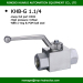 BKH-G1 1/4HRPC brand threaded type high pressure ball valve