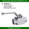 BKH-G1 ball valve high pressure 5000psi ball valve BSP female thread with competitive ball valve price china ball valve