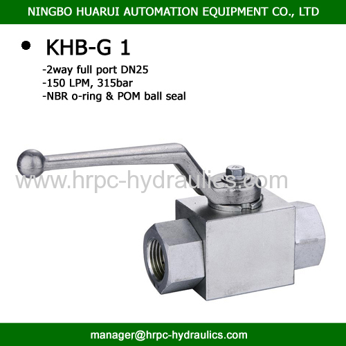 i inch ball valve high pressure 5000psi ball valve BSP female thread with competitive ball valve price china ball valve