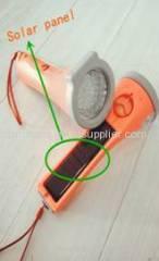 Solar Power Torch Light