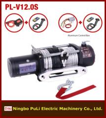 12000lb/5500kg/5.5ton DC 12 volt electric 4x4 off-road/suvs fiber rope winch