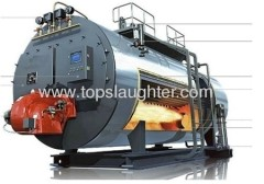 Horizontal Type Diesel Steam Boiler 1T