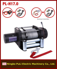 17000lb/8000kg/8ton 4wd off road heavy weight DC 12 volt electric winch maker