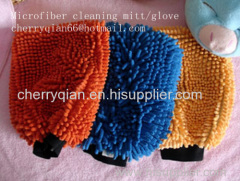 chenille glove cleaning glove house cleaning mit car cleaning glove