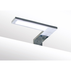 slim bathroom mirror light