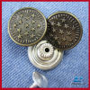 Fashion custom metal jeans button ,shank button painted ren or other