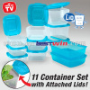 Mr lid storage container 11 pieces