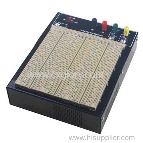 Tie Points Solderless Breadboard with Aluminum Plate