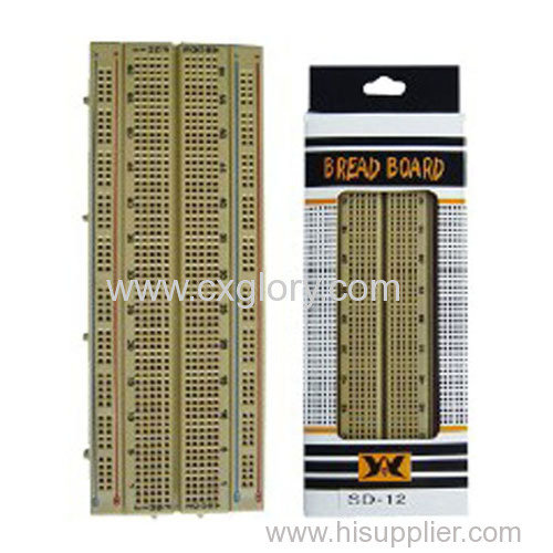 New Points Breadboard ABS Solderless for Experiment Shield Have