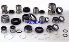 Elastomer Bellow Mechanical Seals type AZ1for blower pump, diving pump and circulating pump