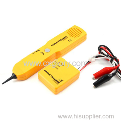 Handheld Telephone Cable Tracker Phone Wire Detector RJ11 Line Cord Tester Tool Kit Tone Tracer Receiver