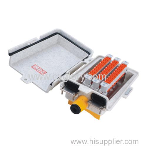 Network optical communication distribution box