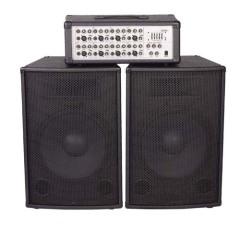 250w/RMS Power Amplifier & Mixer