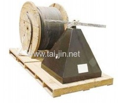 Titanium Windmill /Wind Fan Anodes