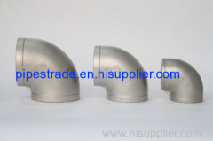 casting ss 304and 304L pipe fittings 90° elbow