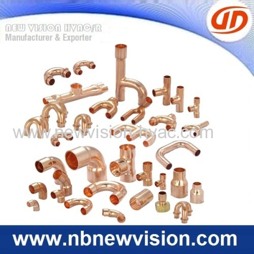Copper return bends for air conditioning coils plumbing