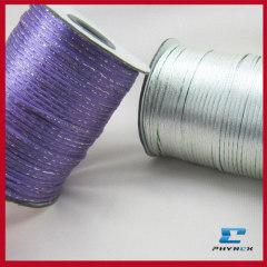 Silk cord rat tail cord