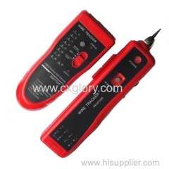 Cable trackerwire tracker line trackertone generator cable tracker tester wire tracker tester cable fault finder