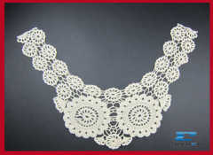 100%cotton collar lace for garments