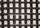 25KN Fiberglass Geogrid Warp Knitting , Glass Fiber Grid For Soft Soil