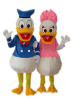 Donald and Dasiy duck, characters,movie cartoon costume,cartoon costumes,disney character costumes,character costumes