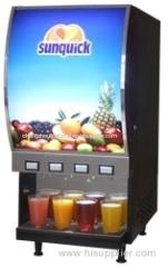 Juice machine juice dispenser