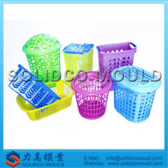 custom plastic busket mould