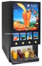 Hot & Cold Bag in Box Juice Dispenser-Corolla four S (with LED panel)