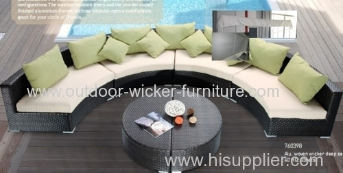 Outdoor rattan furniture leisure sofa sets