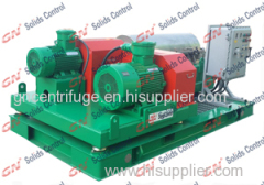 High Speed drilling mud Decanter Centrifuge