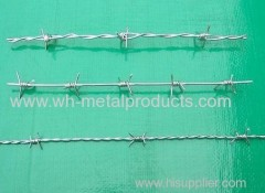 standard good quality barbed wire