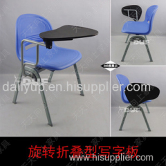 school chair with writing tablet,reasonable price
