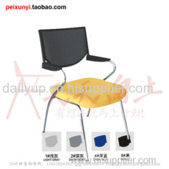 Convinient & Reliable Lecture Chair with Writing Board multifunction