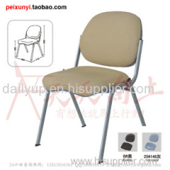 Plastic stacking lecture chair with elegent outlook