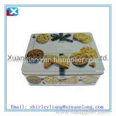 cookie packing tin box cookie packing tin box
