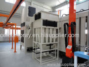automatic cyclone powder booth