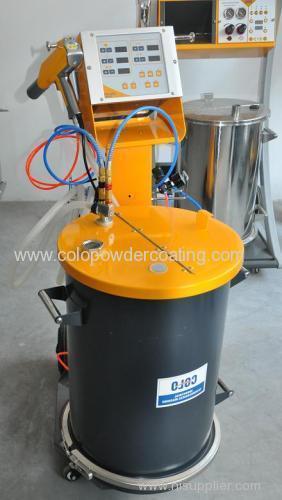 manual powder coating spray machine